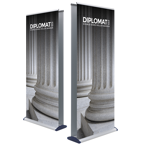 Diplomat Double Sided Roller Banner